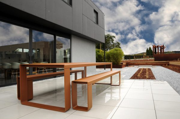 Corten_Style_Table XL 298cm