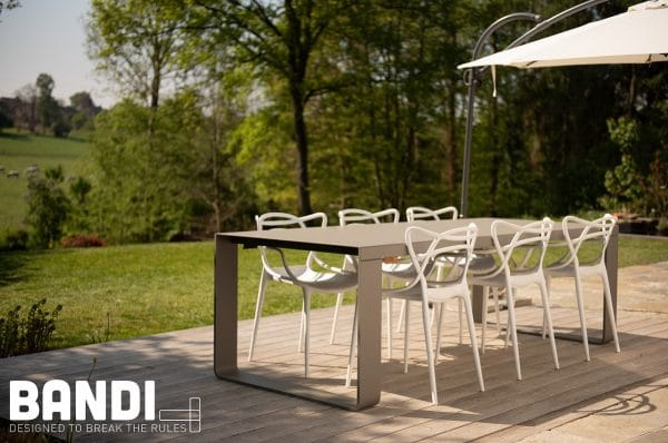 ral 7039 l 250cm chaise masters kartell